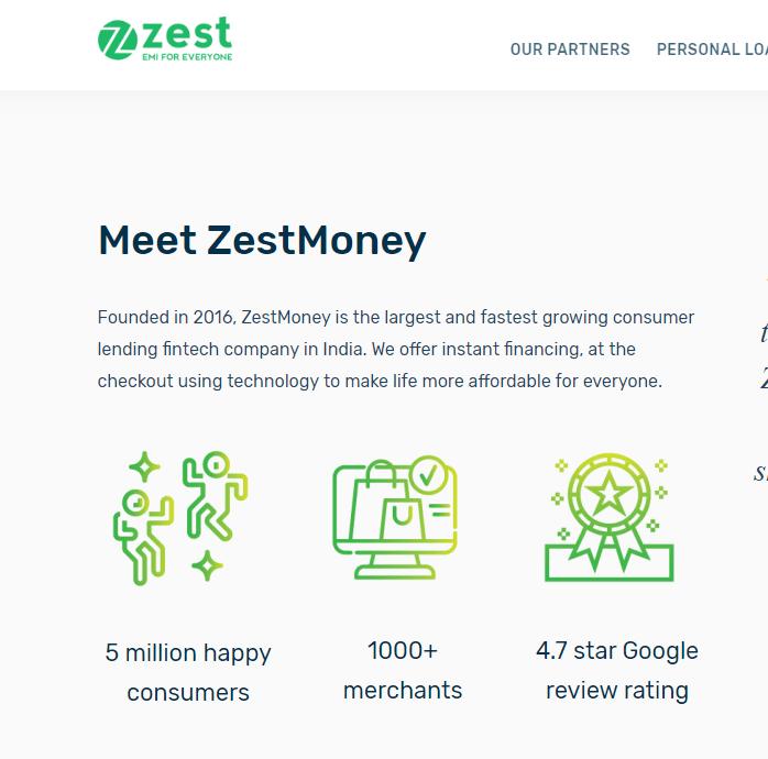 ZestMoney (Consumer Lending)