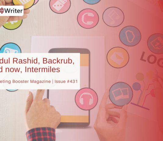 Abdul Rashid, Backrub, and now, Intermiles