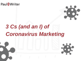 3 Cs (and an I) of Coronavirus Marketing