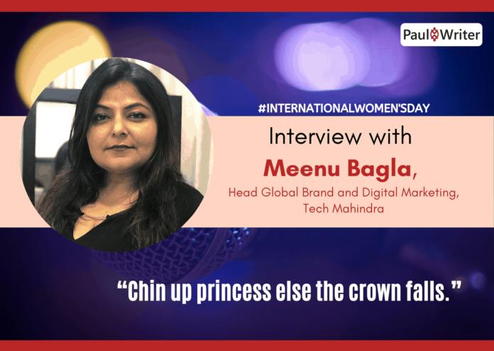 Meenu Bagla, Head Global Brand and Digital Marketing, Tech Mahindra