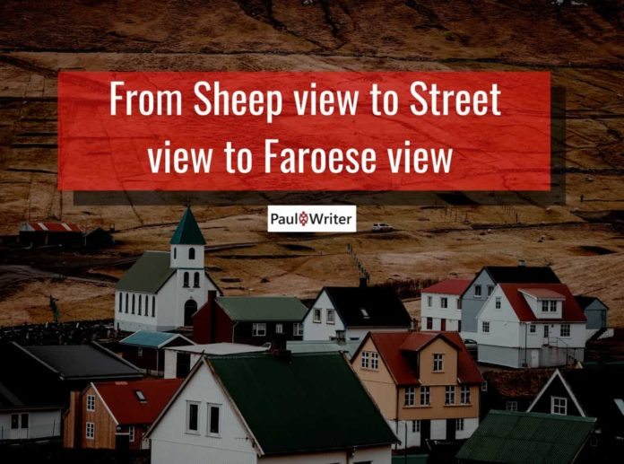 Sheep View to Street View
