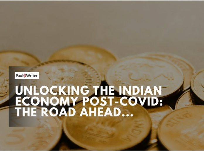 Unlocking the Indian Economy post-COVID The Road Ahead-min