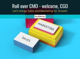 Let's merge Sales and Marketing for Growth