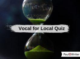 Vocal for Local Quiz-min