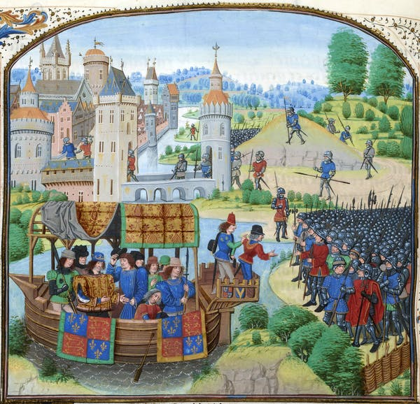 Richard II meeting with the rebels of the Peasants' Revolt of 1381.Wikimedia Commons