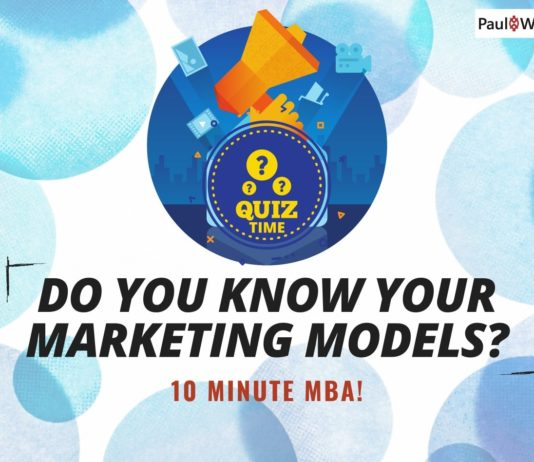 Do you know your Marketing Models