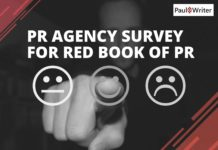 PR Agency Survey for Red Book of PR