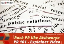 Rock PR like Aishwarya + PR 101 virtual class