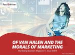 Morals of Marketing