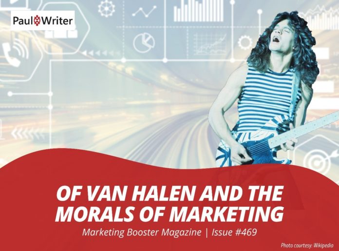 Morals of Marketing