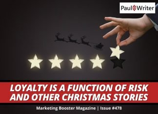 Loyalty is a Function of Risk and other Christmas Stories