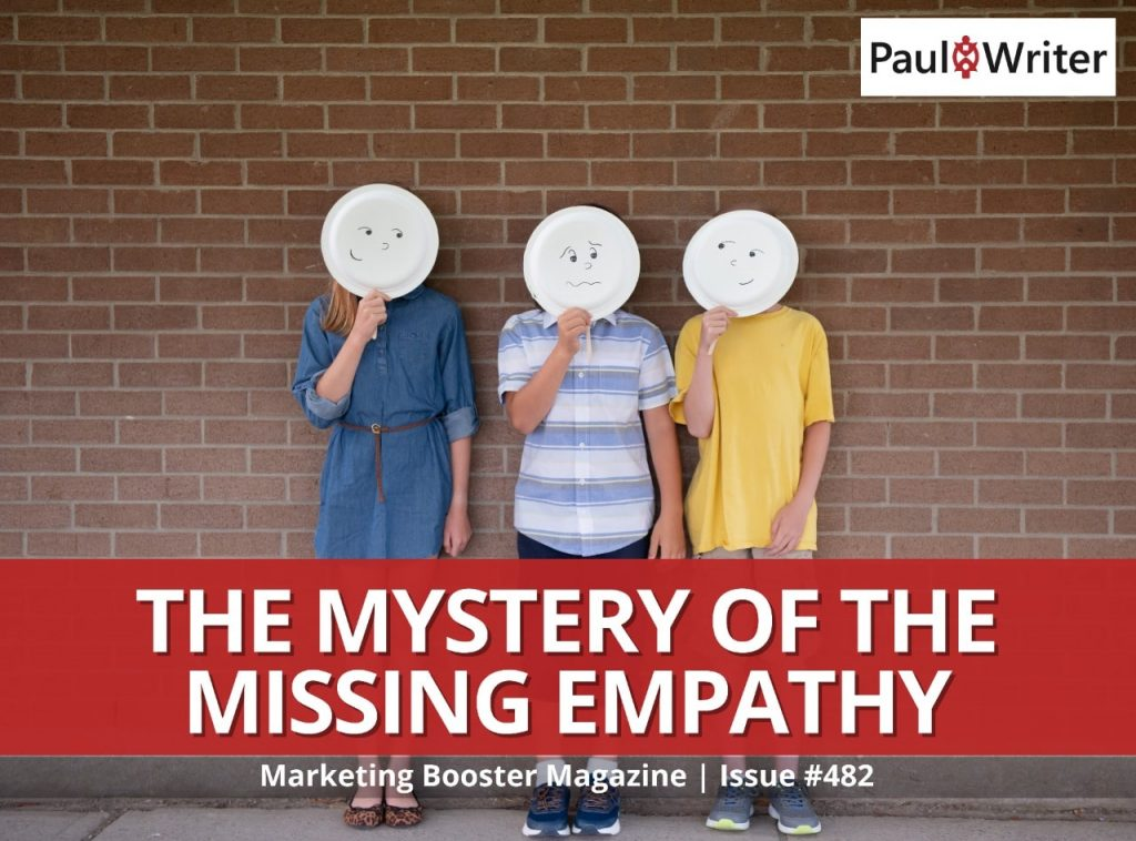 The Mystery of the Missing Empathy