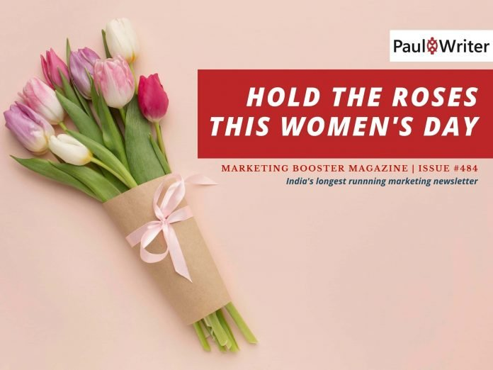 Hold the Roses this Women's Day