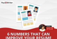 6 Numbers That Can Improve Your Resume