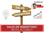Sales OR Marketing Both, actually