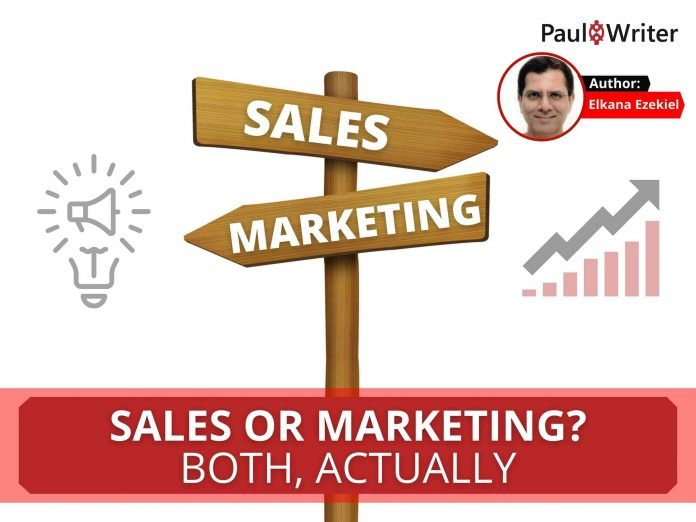 Sales OR Marketing Both, actually