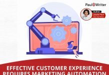 Effective Customer Experience Requires Marketing Automation