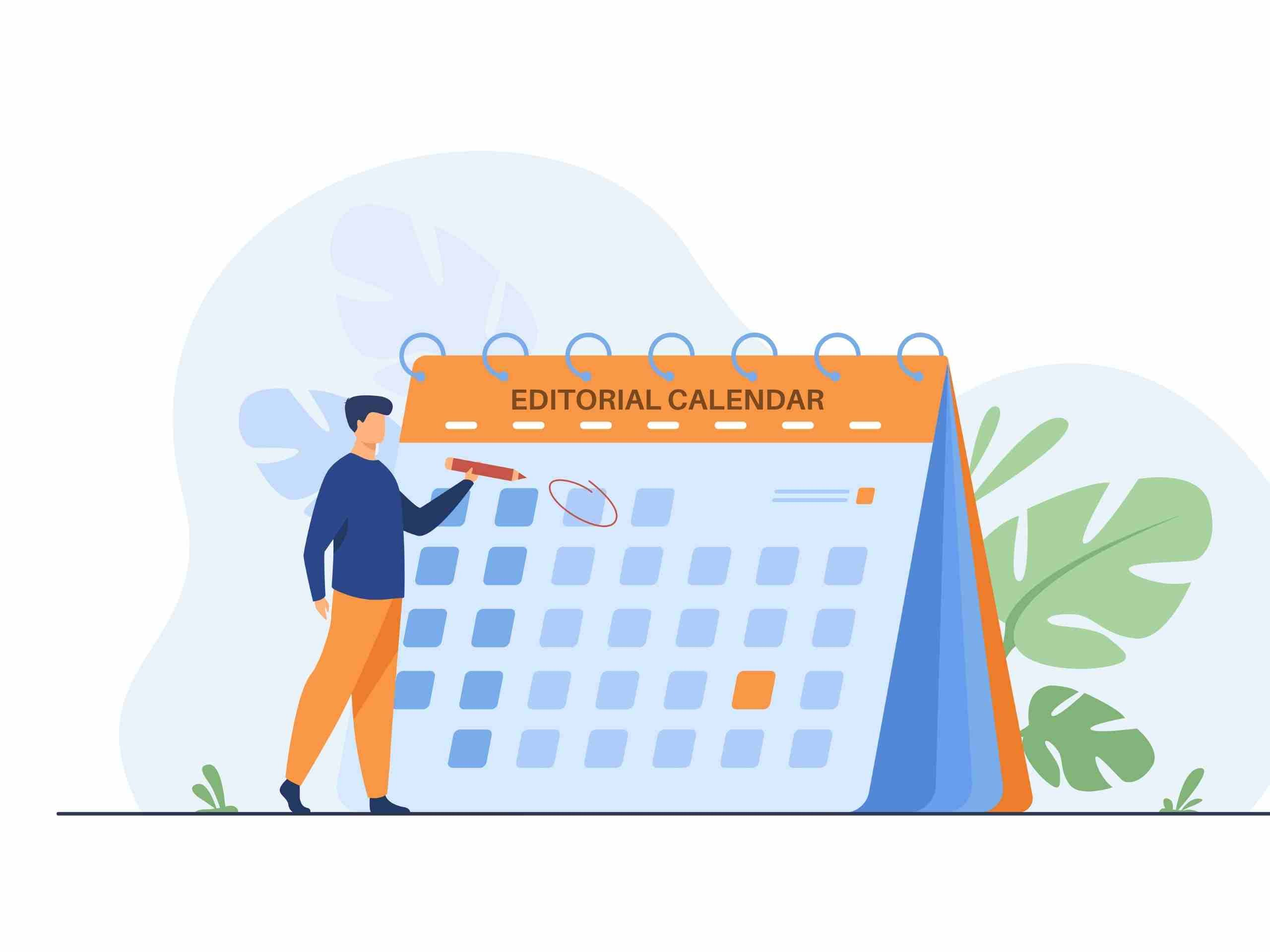Build your editorial calendar