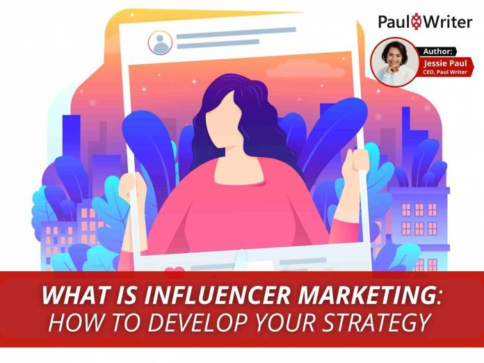 What is influencer marketing How to develop your strategy