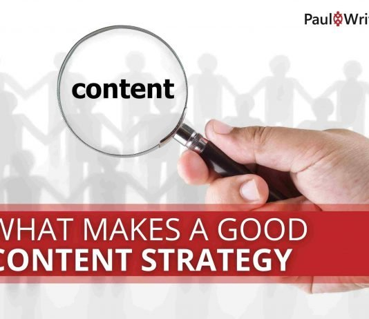 What makes a good content strategy
