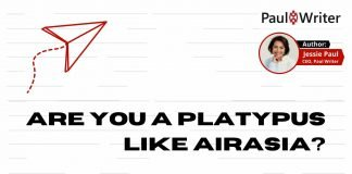Are you a platypus like aIrasia