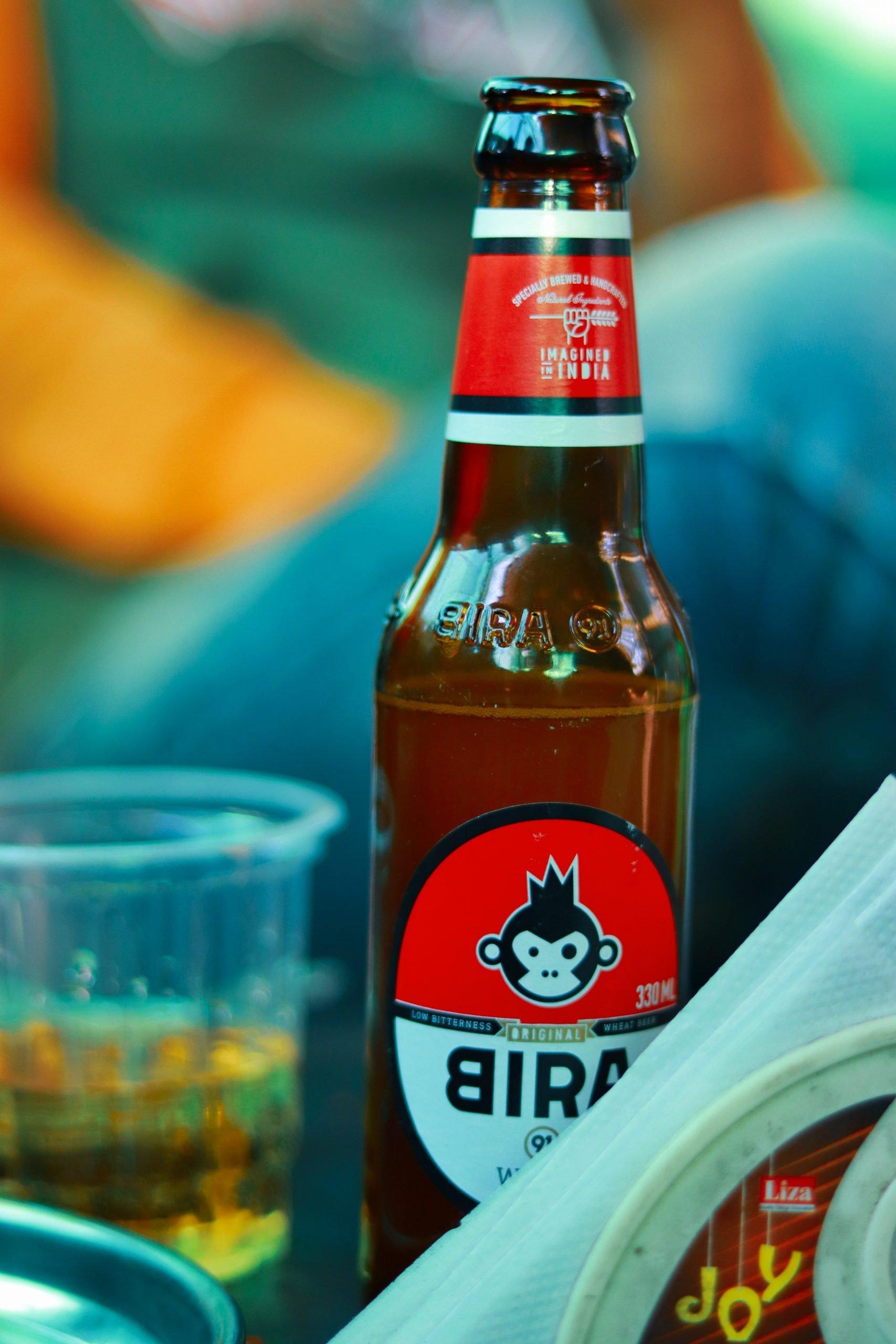 Bira beer bottle