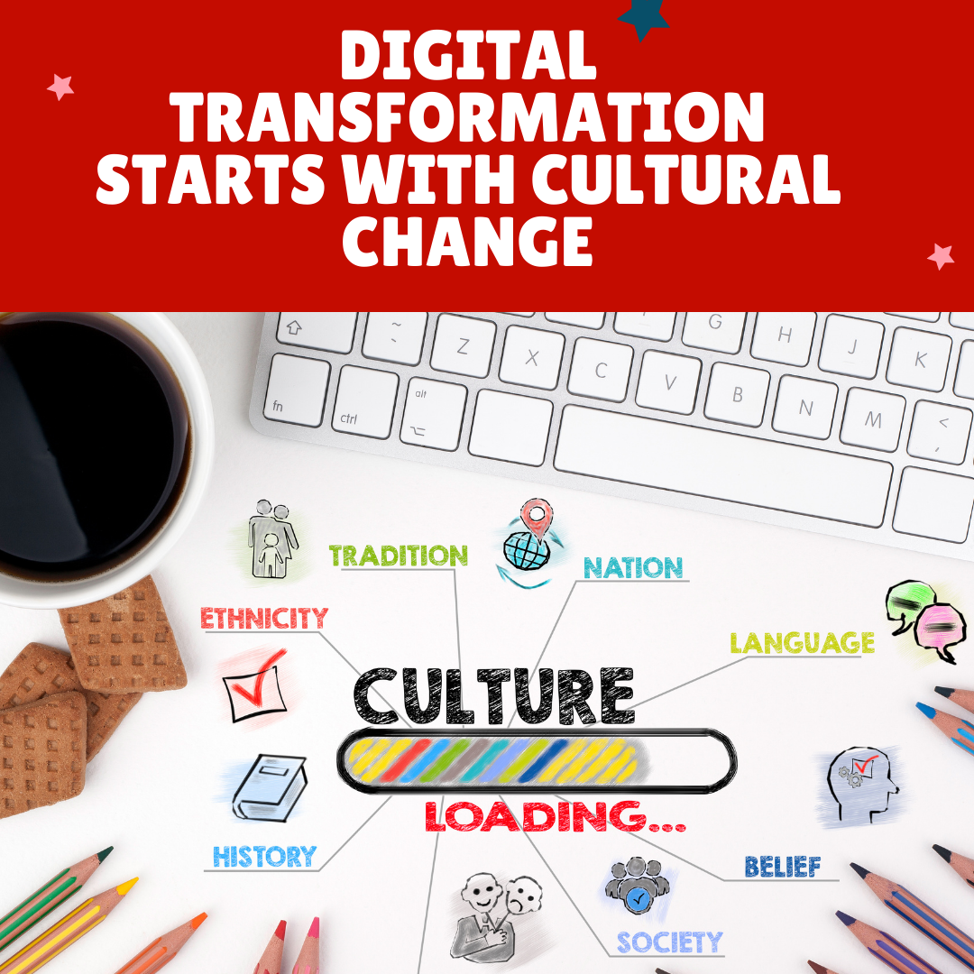 Digital Transformation starts with culture change